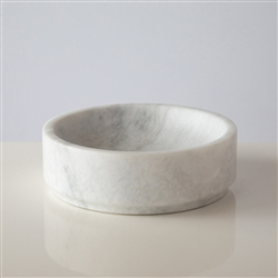 Marble Key Bowl White