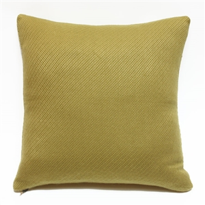 Cashmere Square Pillow Greek Olive
