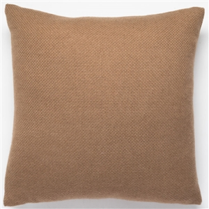 Basketweave Camel Pillow