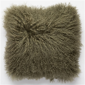 Tibetan Fur Pillow Lichen