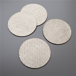 M Nest Leather Coasters