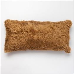 J Alpaca Gold Pillow