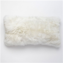 J Alpaca Ivory Pillow