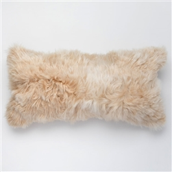 J Alpaca Linen Pillow