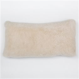 J Sheepskin Pearl Pillow
