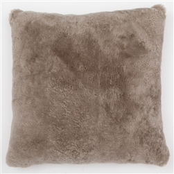 J Sheepskin Moleskin Pillow