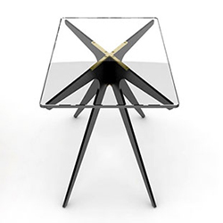 Dean Rectangular Side Table