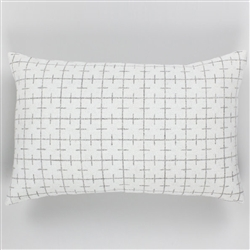 B-Sourdough Lumbar Pillow White