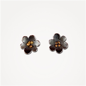 H Spangles Poppy Small Earrings