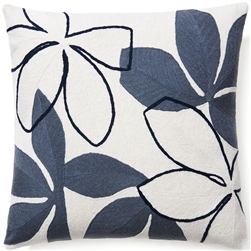 judy ross, judy ross pillows, flora, chainstich pillows