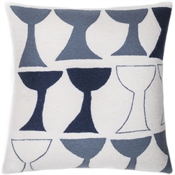 JR5 GOBLET OUTLINED CREAM/SLATE/NAVY