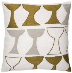 A3-Goblet Cream/Gold Rayon/Oyster