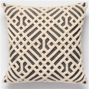 D Raised Pattern Pillow