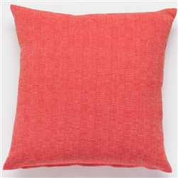D Rips Pillow Red