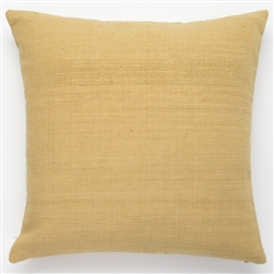 D Solid Yellow Pillow