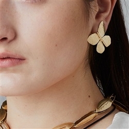 C Butterfly Earrings
