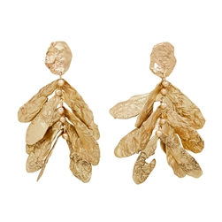C Sycamore Earrings