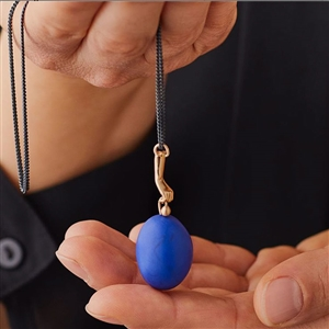 C Egg In Hand Necklace