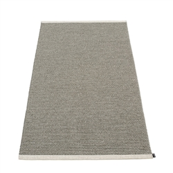 Pappelina plastic outdoor indoor floor mat runner warm grey