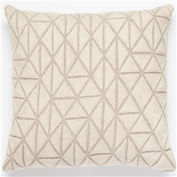 H- Ecru Slate Pillow