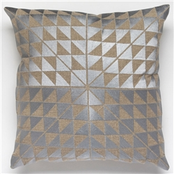 H-Geocentric Ash Grey Pillow