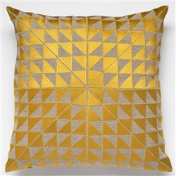H-Geocentric Gold Pillow