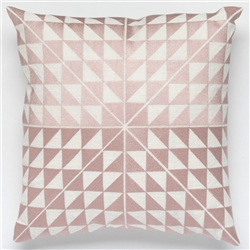 H-Geocentric Pink Pillow