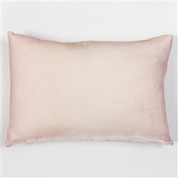 velvet pillow, velvet, silk, kevin o'brien, pillow, blush, pink