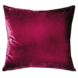 Velvet Ombre Pillow Raspberry