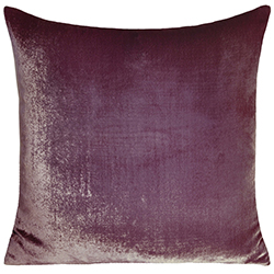 Velvet Ombre Pillow Rose Mauve