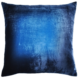 Velvet Ombre Pillow Midnight
