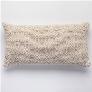 ST Overshot Heather Pillow