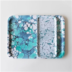Marbled Serving Trays