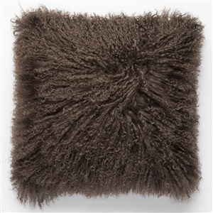 Tibetan Fur Pillow Durango