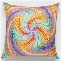Silk Spiral Pillow