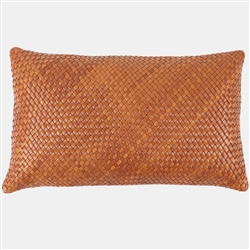 SD Hamilton Leather Pillow