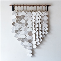 Wall Hanging White Shells