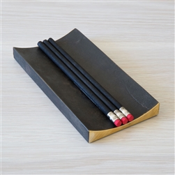 Black Brass Pen Tray