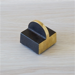 Black Brass Paper Weight