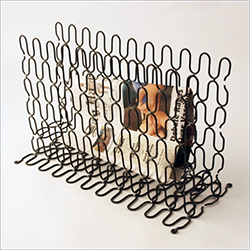 Tapestry Weave Magazine Holder