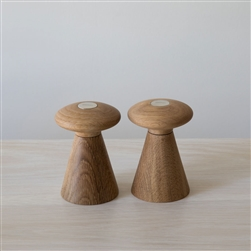 Salt and Pepper Forest Shakers