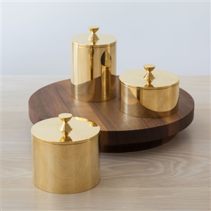 Handmade Brass Containers