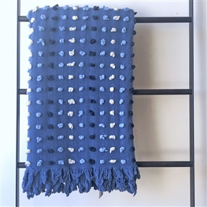 Bobble Throw Blue