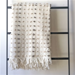 Bobble Throw White