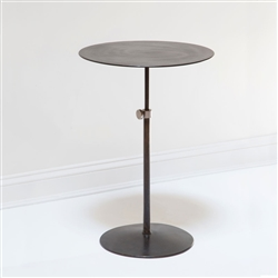 Adjustable Steel Pedestal Table