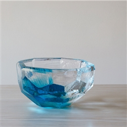 Crystal Bowl Aqua