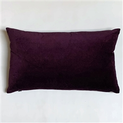 Velvet Plum Pillow
