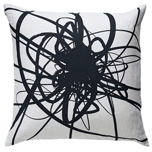 AA-Lint Pillow Raven Black