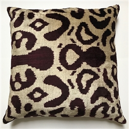 Silk Velvet Abstract Pillow