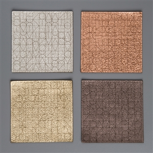 M Module Leather Coasters